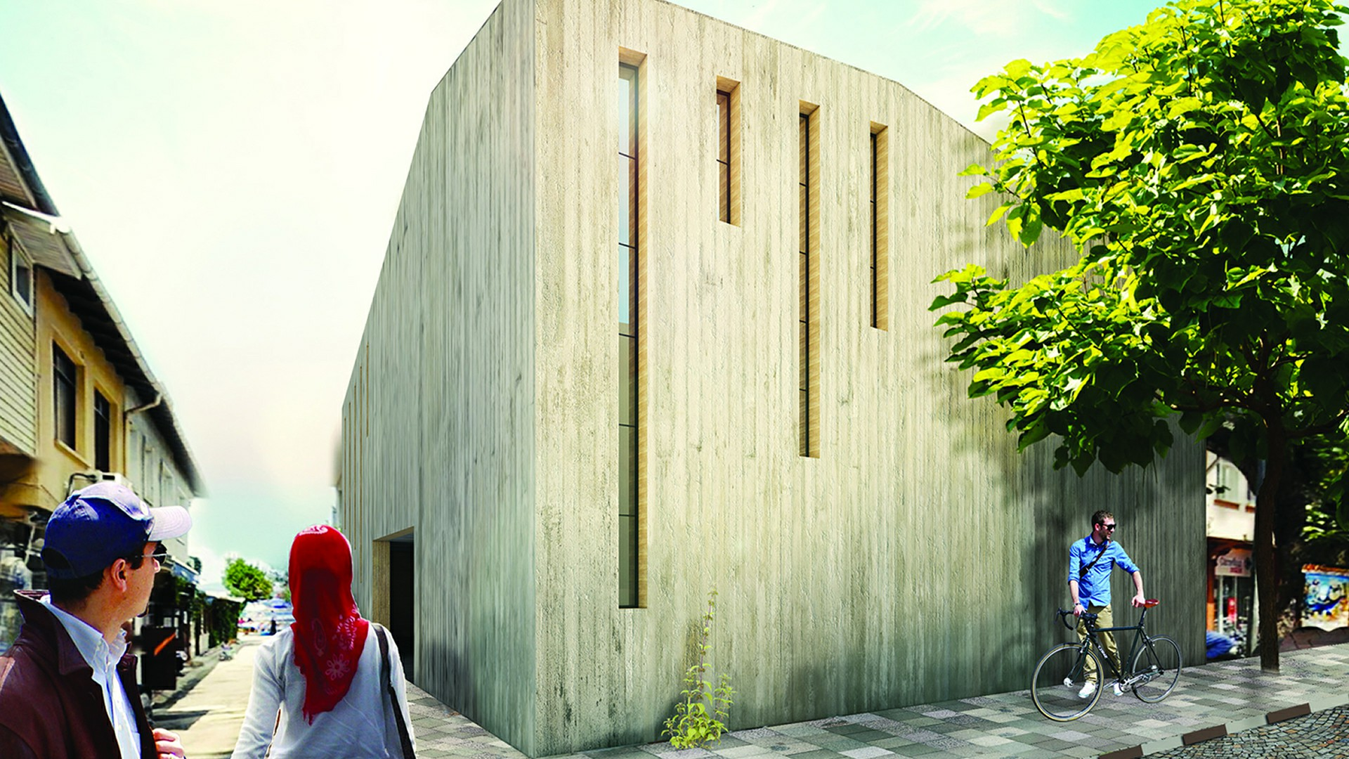 Buyukada Carsi Mosque National Design Competition