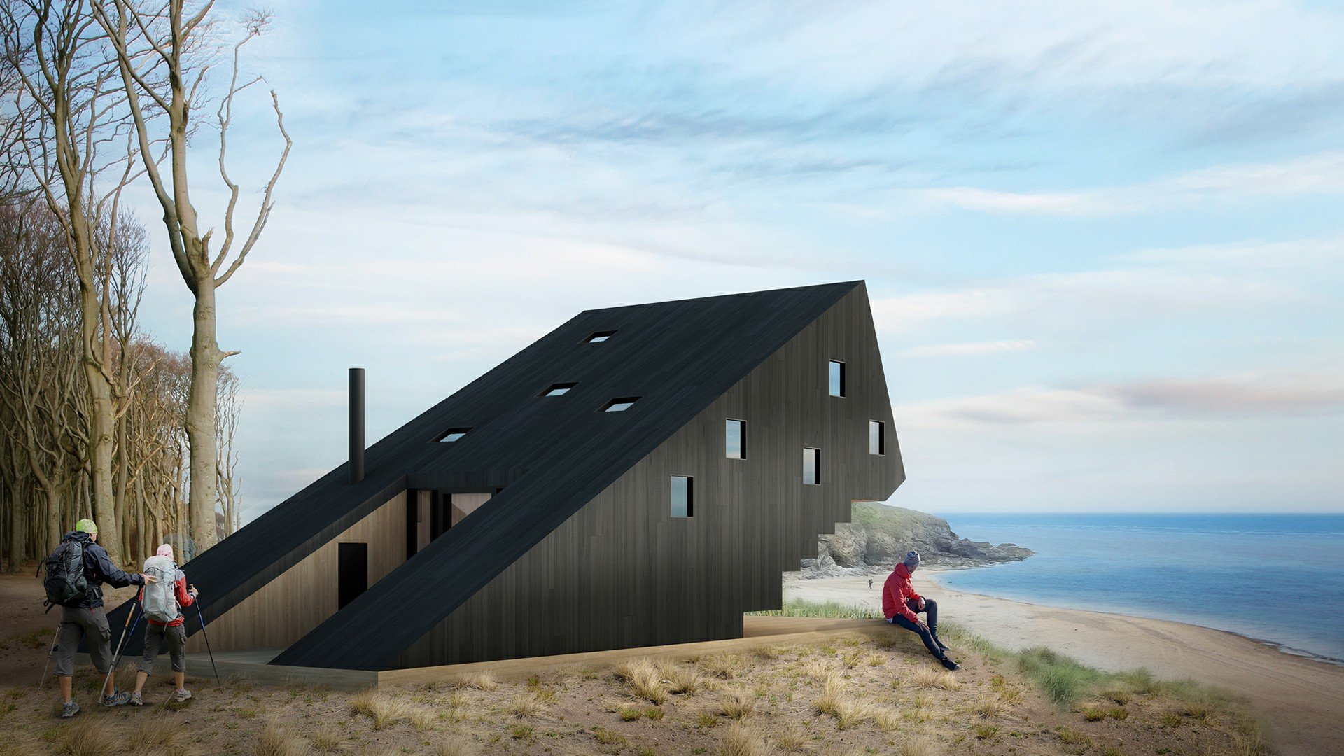 Amber Road Trekking Cabin International Design Competition